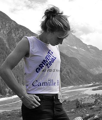 Camille Rast portrait sponsor Grimentz-Zinal