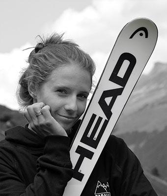 Camille Rast portrait sponsor Head