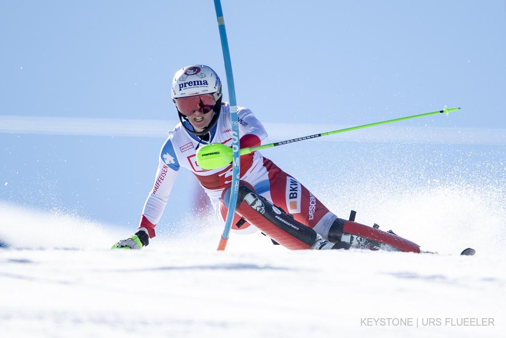 Camille Rast ski alpin slalom Championnats suisses Hoch YBrig