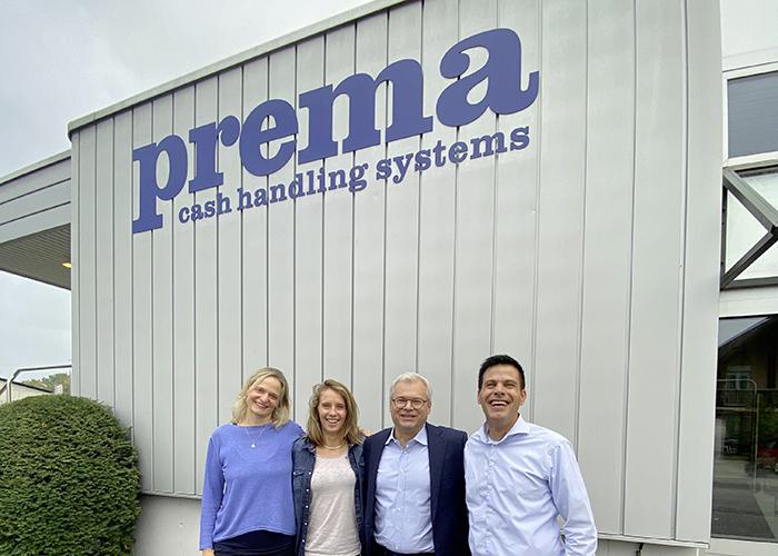 Camille Rast Visite Prema cash handling systems